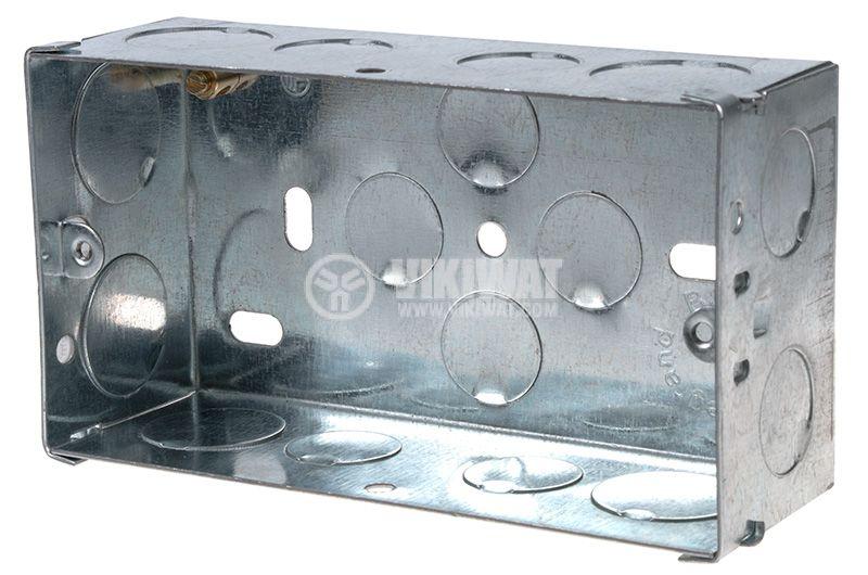Конзола за бойлерно табло за вграждане метална 132x73x47 LEGRAND - 1