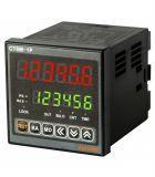 Брояч на импулси/време CT6M-1P4 електронен NPN PNP