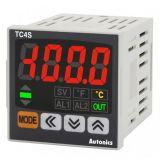 Temperature controller TC4S-24R 100~240VAC 0.1~999.9°C relay+alarm
