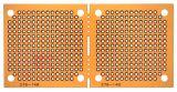 Универсална платка PC-02LAM, едностранна с отвори, 45x91x1.6mm, 2.54mm