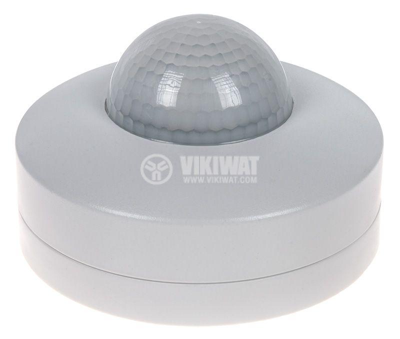 PIR шалтер сензор 230V 1200/300W 360° 12m COMMEL 311-151 - 1