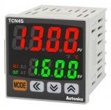 Термоконтролер TCN4S-22R 24VAC/24~48VDC 0.1~999.9°C релеен+2 алармени