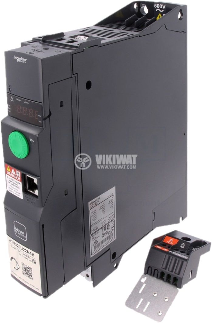 Frequency inverter ATV320U22N4B - 1