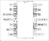 Интегрална схема 4013, CMOS, Dual D Flip-Flop, SMD - 2