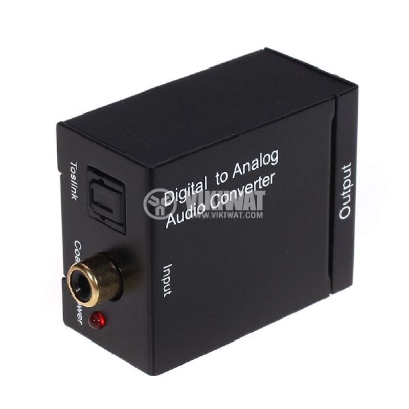 TosLink/RCA-2xRCA, цифров-стерео сигнал - 2