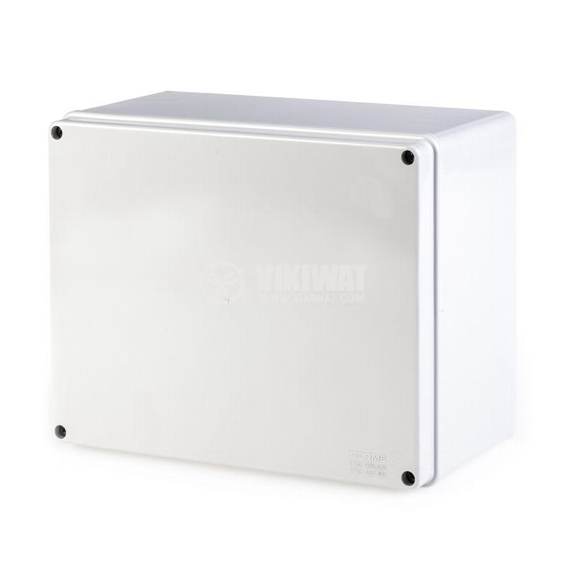 Универсална разклонителна кутия 686.404 за стенен монтаж 100x100x80mm инженерна пластмаса