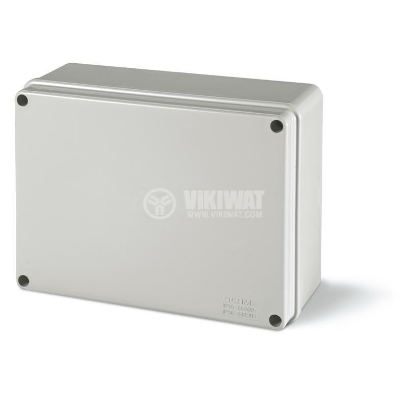 Универсална разклонителна кутия 686.207 за стенен монтаж 190x140x70mm инженерна пластмаса