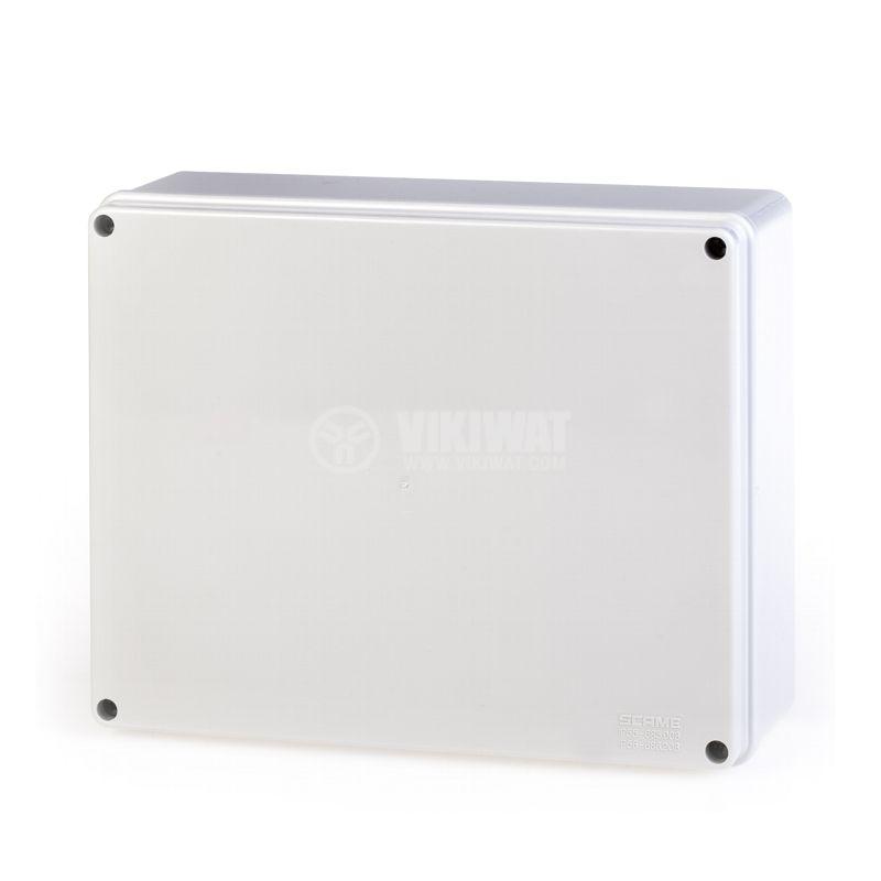 Универсална разклонителна кутия 686.208 за стенен монтаж 240x190x90mm инженерна пластмаса