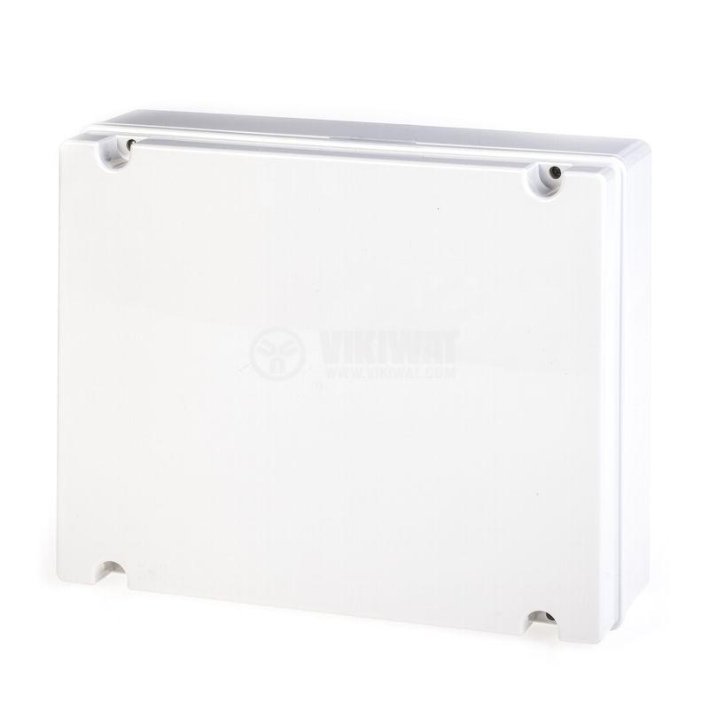 Универсална разклонителна кутия 686.210 за стенен монтаж 380x300x120mm инженерна пластмаса