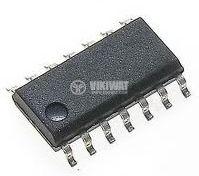 Интегрална схема 4511, CMOS, BCD-to-7 Segment Latch/Decoder/Driver, SMD - 1