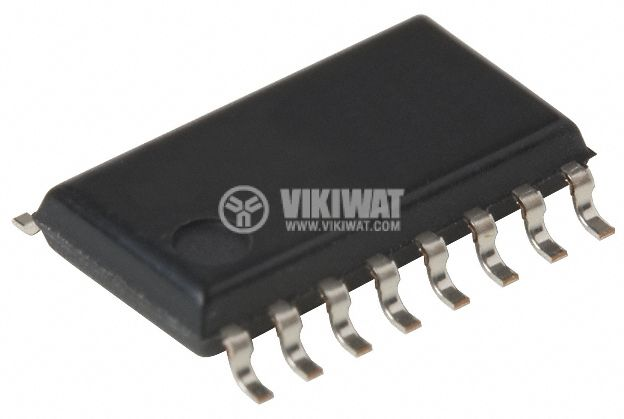 Интегрална схема 4516, CMOS, Presettable Up/Down Counters, SMD - 1
