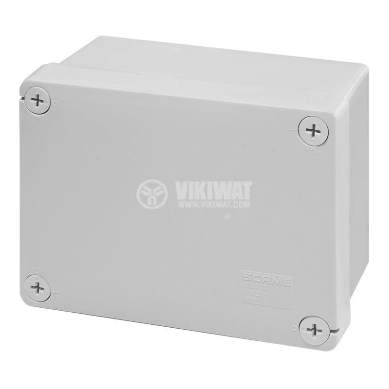 Универсална разклонителна кутия 689.206 за стенен монтаж 150x110x70mm термопластмаса
