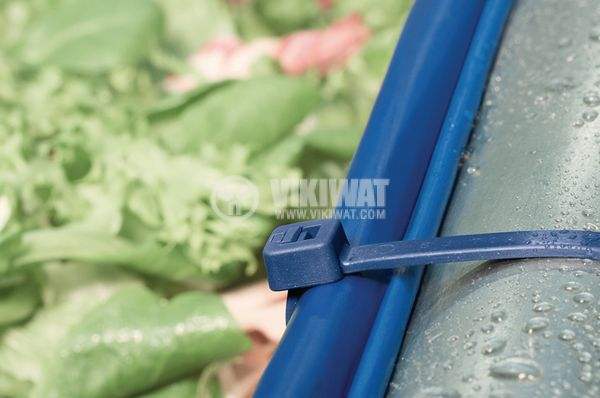 Cable tie 202x4.6mm blue