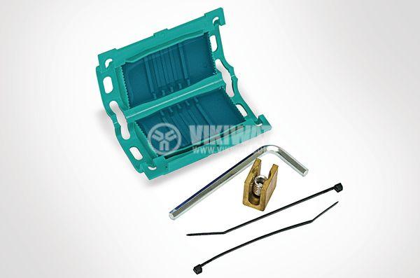 Кабелна муфа с гел и конектор IP68 влагозащитена Relifix V150 RELICON HellermannTyton 435-00651