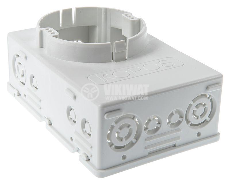 Кутия, конзола KUH1 универсална, за стени с мазилка - 2
