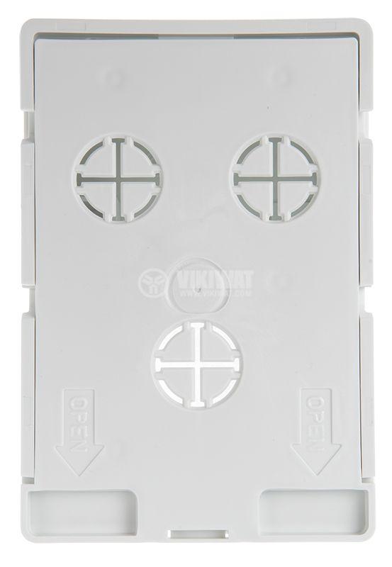 Кутия, конзола KUH1 универсална, за стени с мазилка - 4