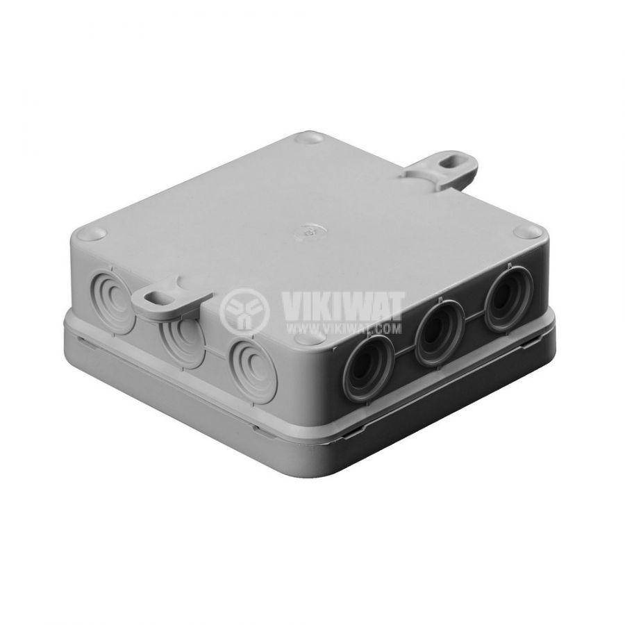 Универсална разклонителна кутия за стенен монтаж 100x100x37 - 2