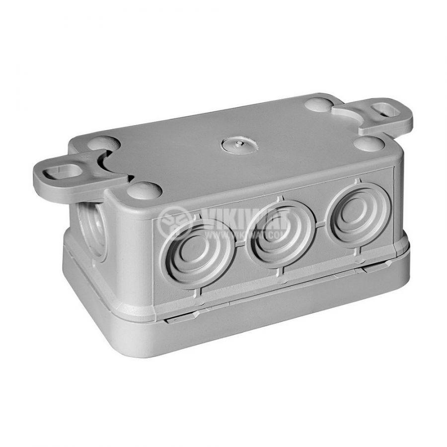 Универсална разклонителна кутия за стенен монтаж 85x45x37mm - 2