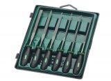 Needle file set for metal 5pcs MANNESMANN 61010
