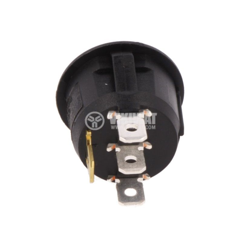 Rocker Switch, 2-position, OFF-ON, 20A/14VDC, hole size ф20.2mm, for car seat heating - 2