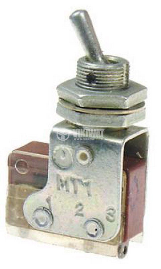 ЦК ключ MT-1, 4А/250VAC, SPDT, ON-ON - 1