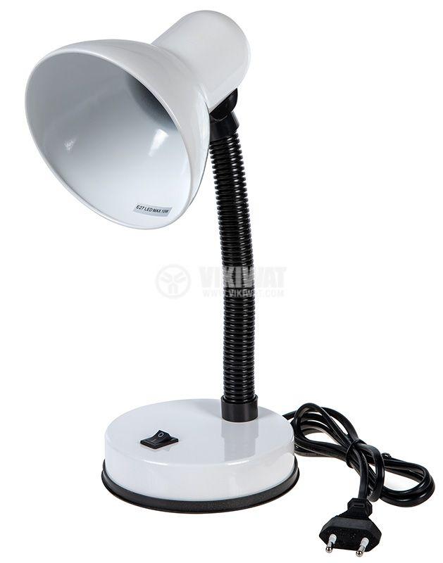 Настолна лампа, 220VAC, 10W, SOFIA, бяла