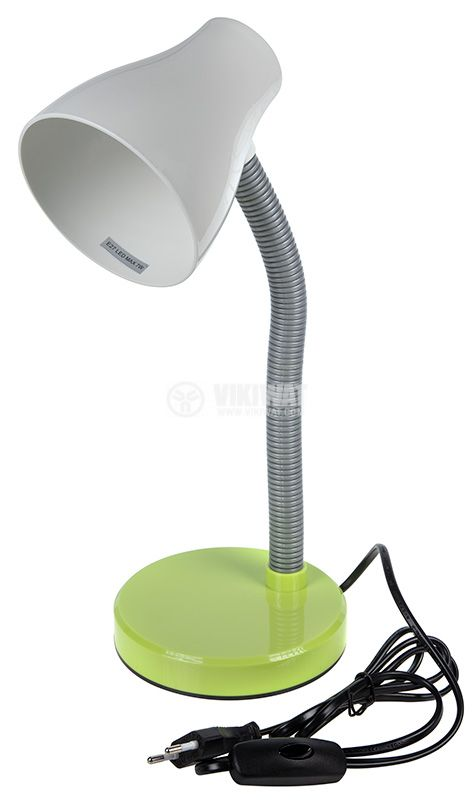 Настолна лампа, 220VAC, 7W, SMILE, зелена