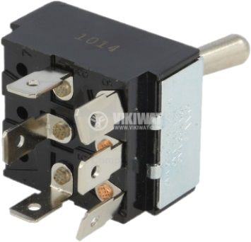 ЦК ключ 10A/250VAC 3P3T - 2