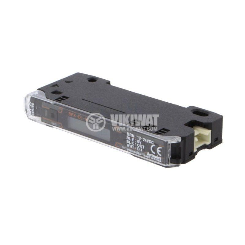 Оптичен усилвател BFX-D1-N, 12~24VDC, NPN, LCD, DARK ON / LIGHT ON - 1