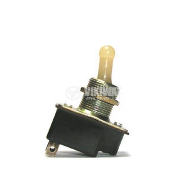 ЦК ключ T1, 4А/250VDC, 6A/24VDC, SPST, ON-OFF - 1
