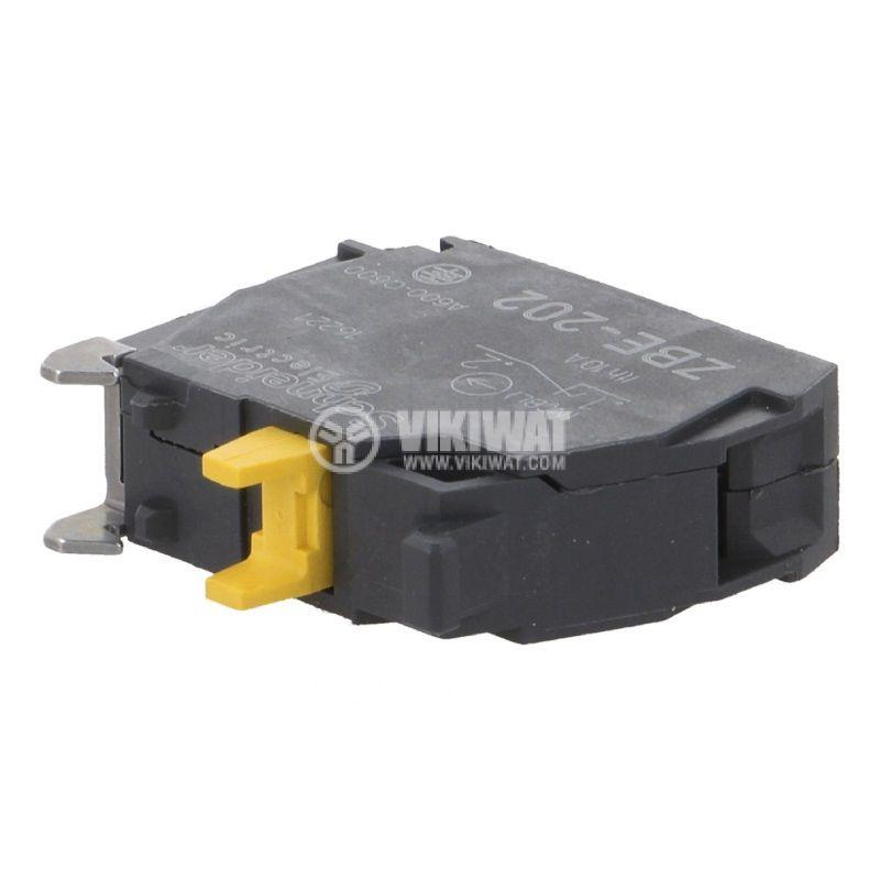 Контактен блок ZBE202, 3A/240VAC, SPST-NC - 1