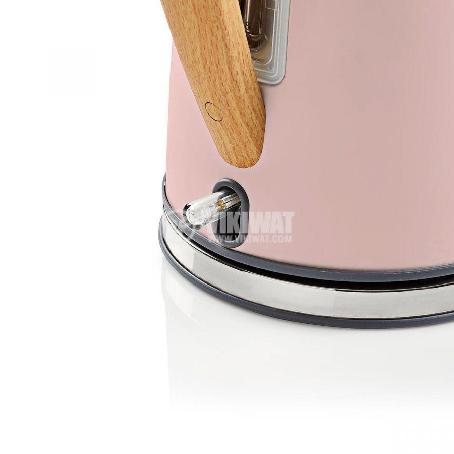 Електрическа кана KAWK510EPK 1.7l 1850-2200W 230V розова - 5