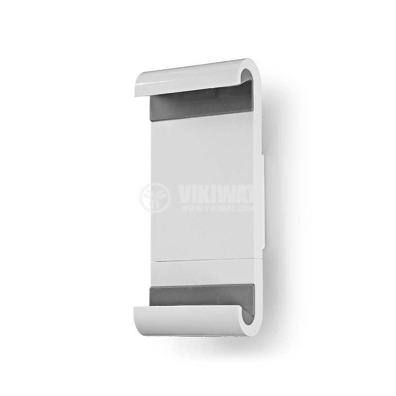 Универсална стойка за таблет ширина от 7 до 12 инча за стена бяла/сива - 2
