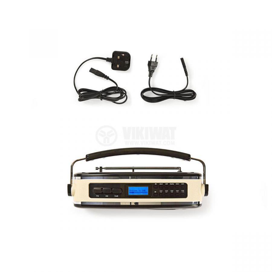 Retro radio RDDB5000BK FM/AM/DAB/DAB+ 1.8 88~108.5MHz - 7