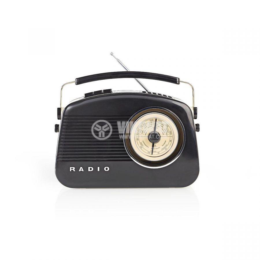 Retro radio RDDB5000BK - 1