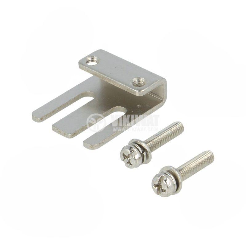 Индуктивен датчик PSN25-5AO, 100~240VAC, NO, 5mm, 25x25x39mm, екраниран - 2
