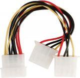 Захранващ кабел, Molex/m - 2xMolex/f, 150mm, VLCP74020V015, Valueline