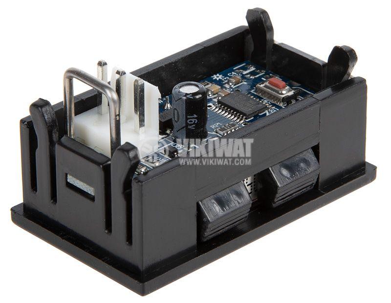 Амперметър 0~10A DC LCD - 3
