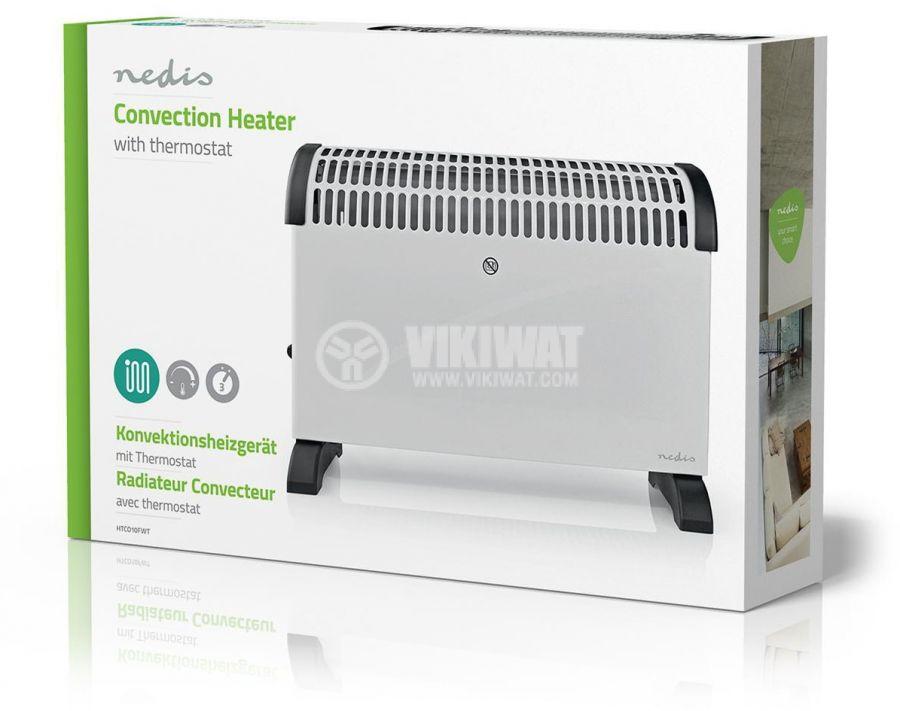 Конвектор за отопление 750/1250/2000W, HTCO10FWT - 7