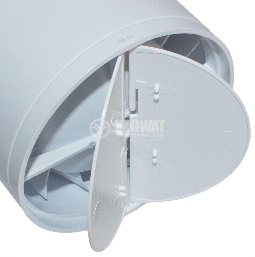 Клапа за вентилатор ф150mm MMotors JSC 5076