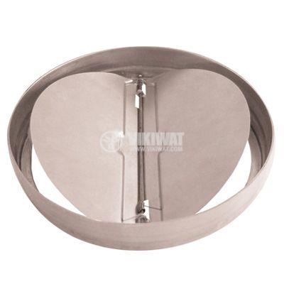 Метална клапа за вентилатор ф120mm MMotors JSC 5311