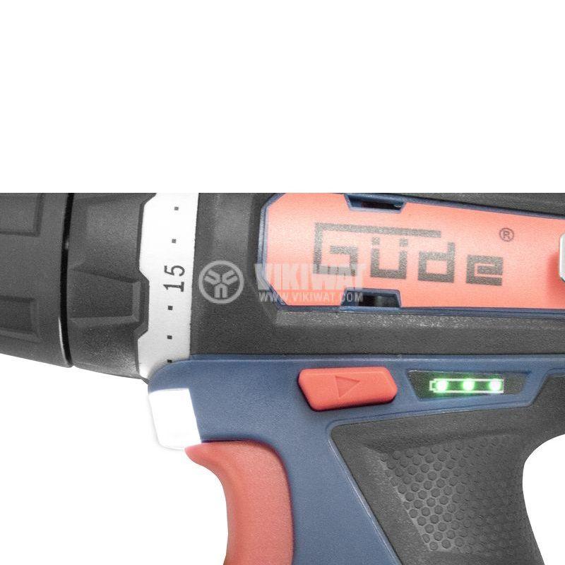 Cordless screwdriver GUDE BS 12-202-20K - 5
