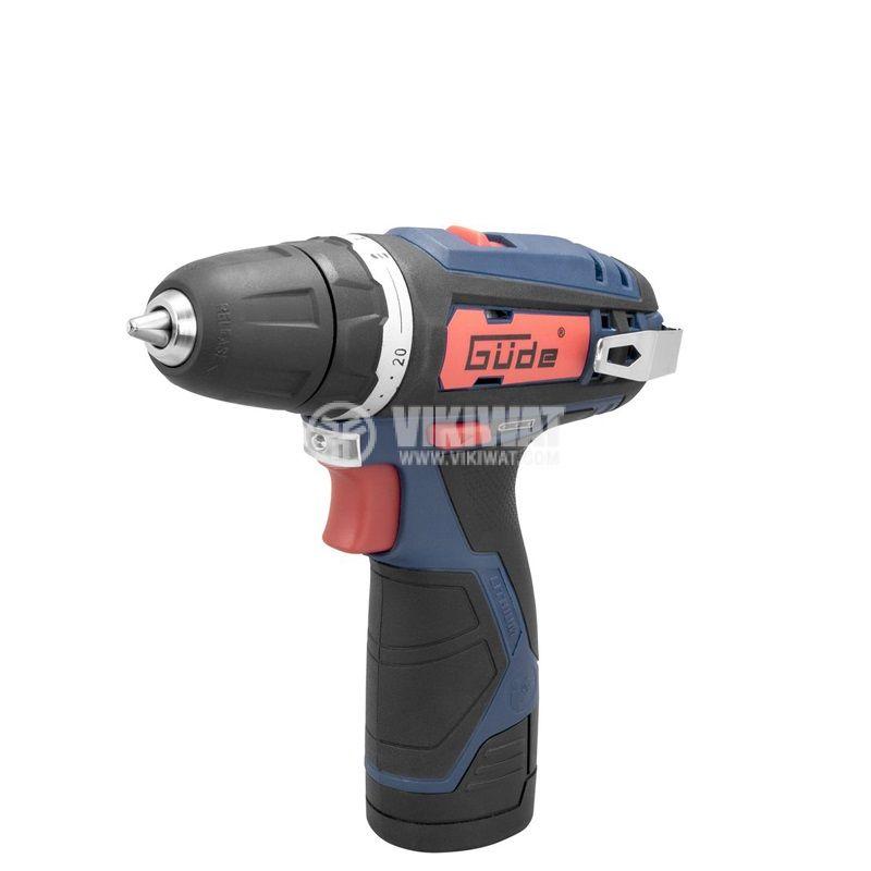 Cordless drill 12V GUDE - 1