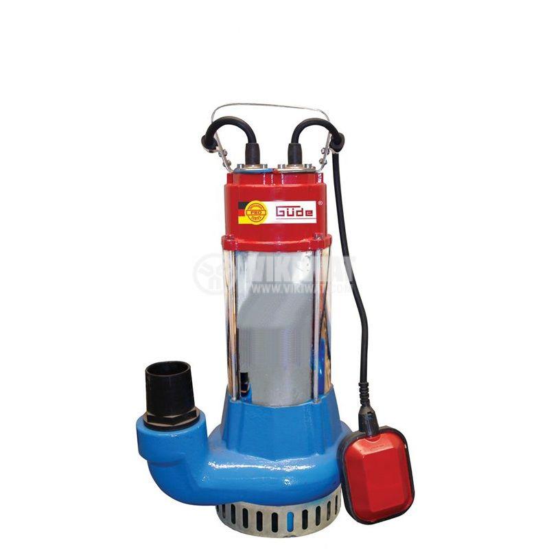 Потопяема помпа за замърсена вода PRO1100A