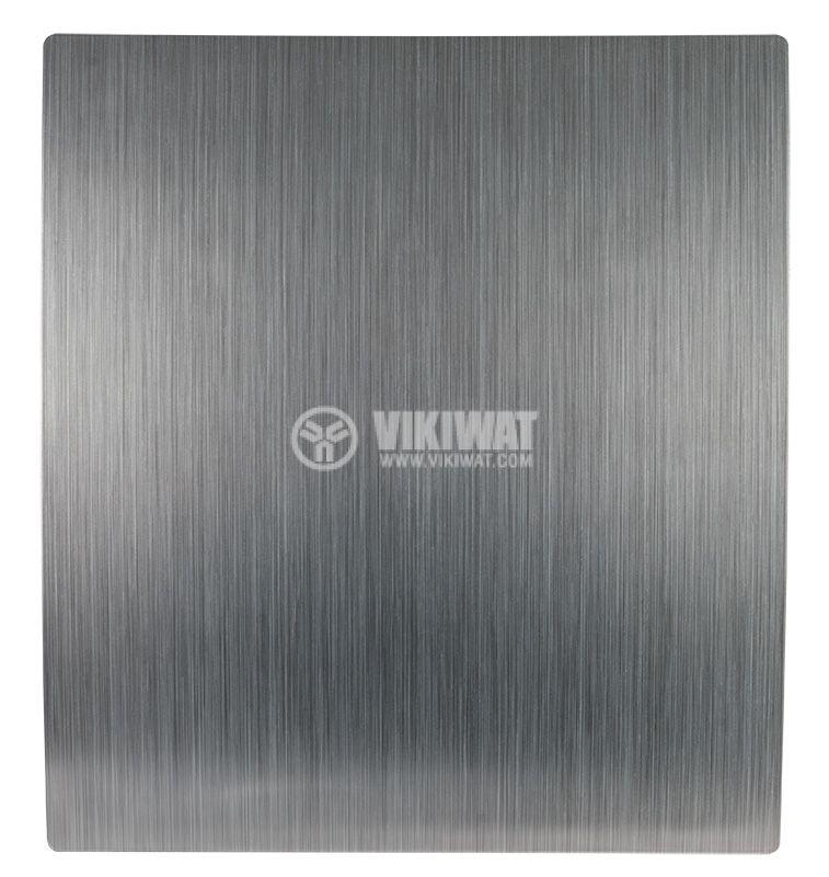 Вентилатор за баня MMP 01, ф120mm с клапа, 230VAC, 18W, 150m3/h - 1