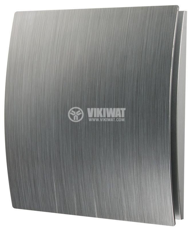 Вентилатор за баня MMP 01, ф120mm с клапа, 230VAC, 18W, 150m3/h - 2