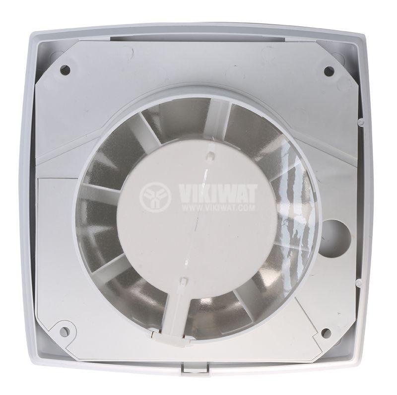 Вентилатор ф100mm 230V 8W 110m3/h бял - 4