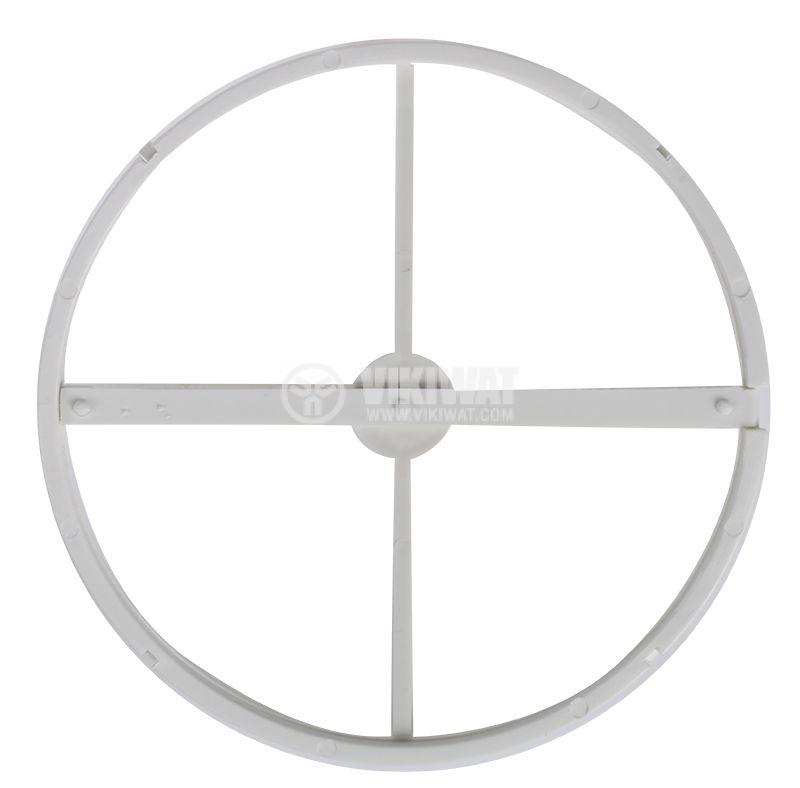 Клапа за вентилатор ф120mm Cata Blind E-120 - 2