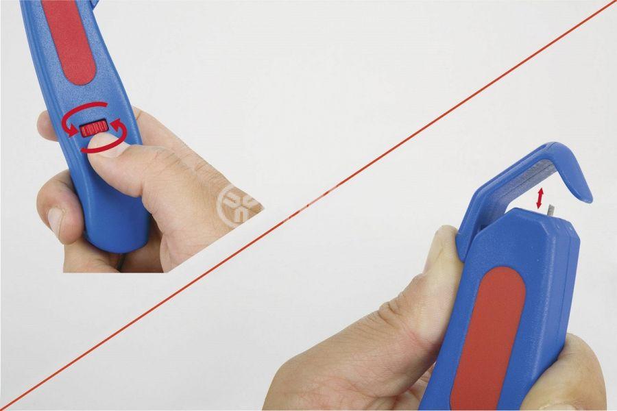 Инструмент за оголване на кабели, 0.5~6mm2  - 4