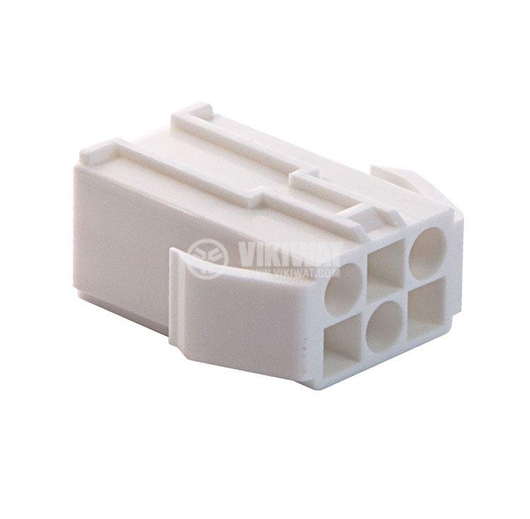Конектор за обемен монтаж женски, VF45003-6RF, 6 пина - 1